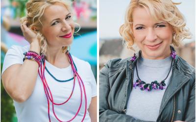 Andrea Mácsár Textilékszer – Jewelry made with Love